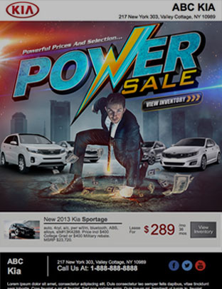 Email Marketing - Power Sale